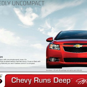 Print Design: Jeff Gordon Chevrolet