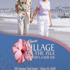 Print Design: Village On The Isle
