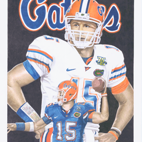 Drawings: Tebow Time