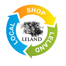 Print Design: Leland, NC  Local Shopping Logo