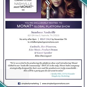 Print Design: Monat Global